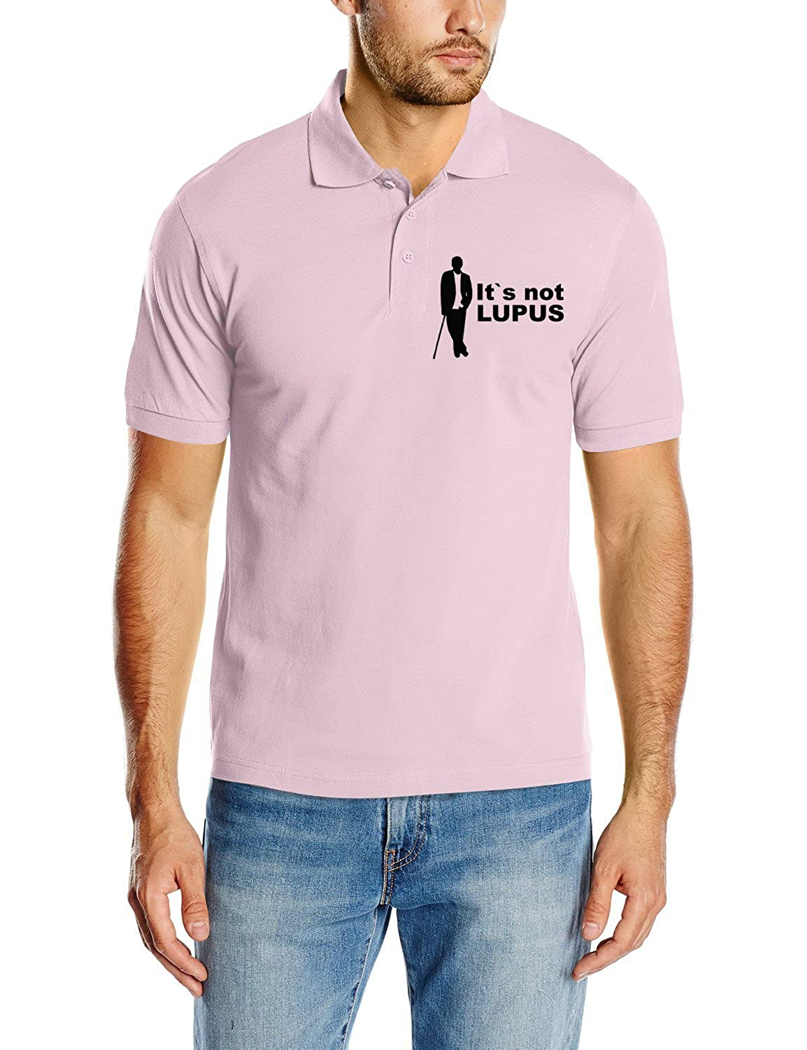 House It`s Not Lupus v2 Touchlines Poloshirt Dr Polo para Hombre