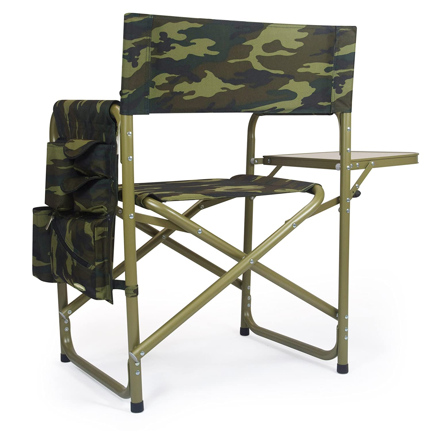 Amazon Picnic Time Portable Folding Sports Chair Camouflage
