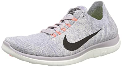 cheaper bad24 cb3d8 Nike Women's WMNS Free 4.0 Flyknit Running Shoes