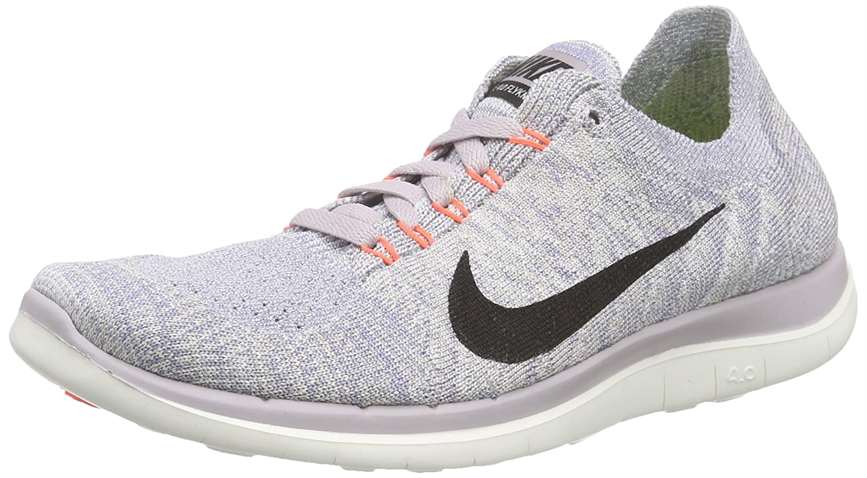 30791de433f6 Nike Women s Free 4.0 Flyknit Running Shoes Purple Size  3 UK   Amazon.co.uk  Shoes   Bags