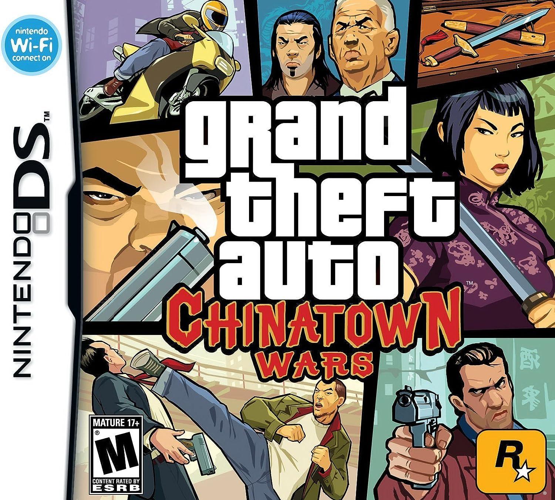 Amazon com: Grand Theft Auto: Chinatown Wars - Nintendo DS: Video Games