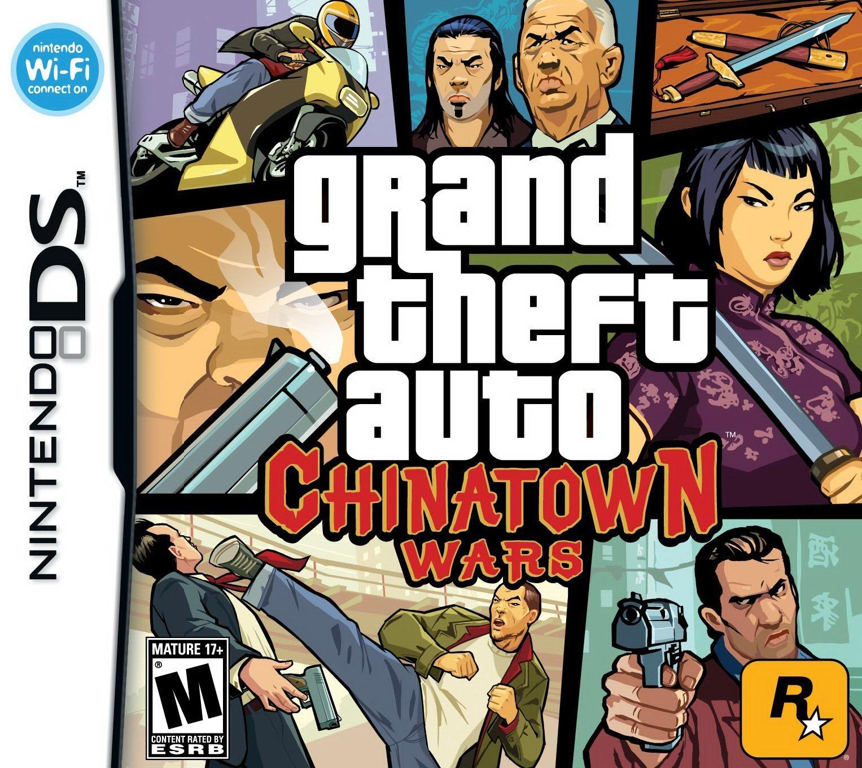 Grand Theft Auto: Chinatown Wars - Nintendo DS