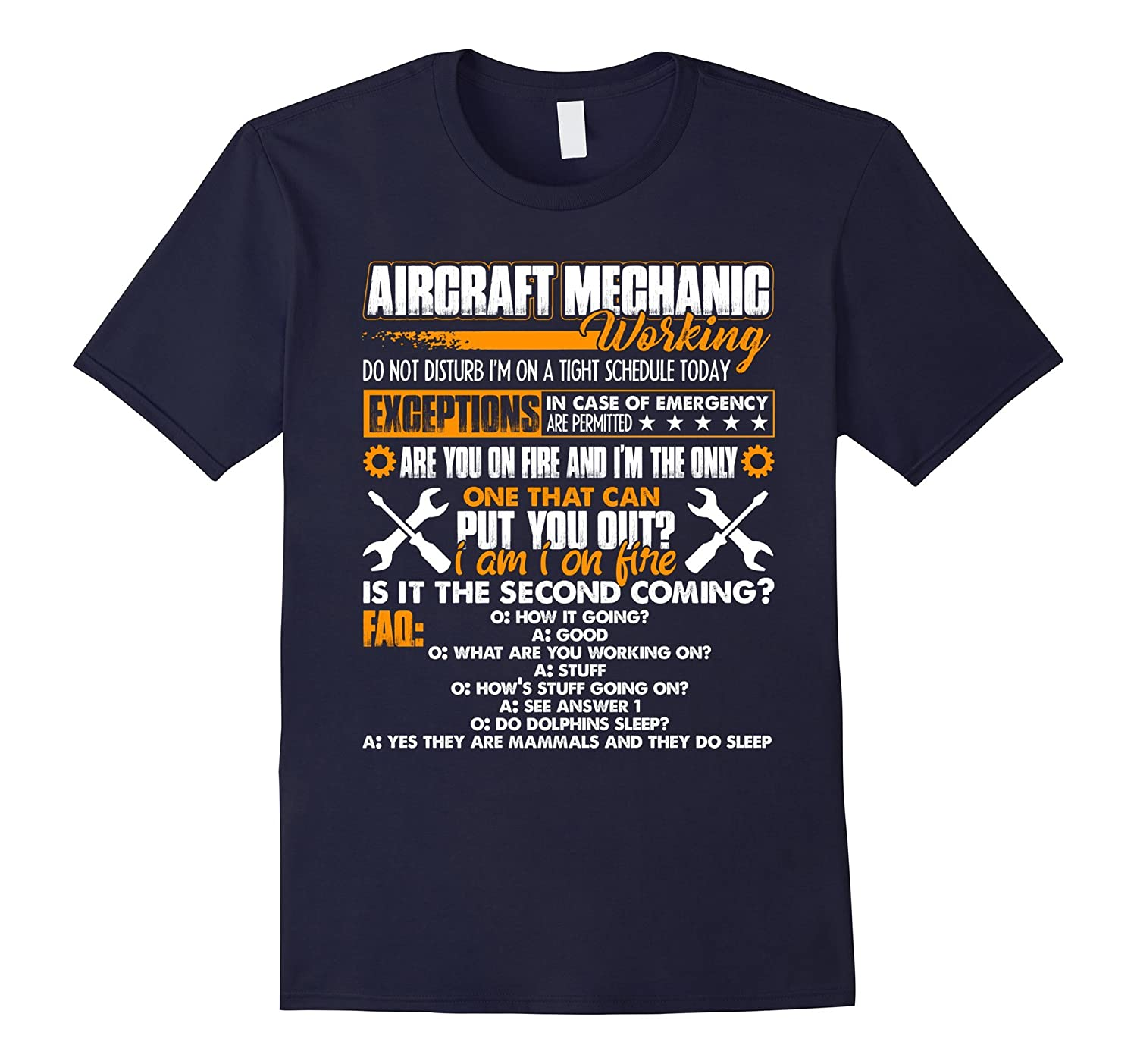 Aircraft Mechanic Shirts - Aircraft Mechanic Working T shirt-Vaci