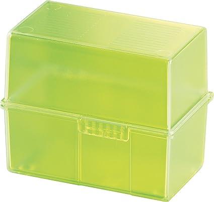 Han 976-70 - Caja para tarjetas (formato A6, capacidad para 400 ...