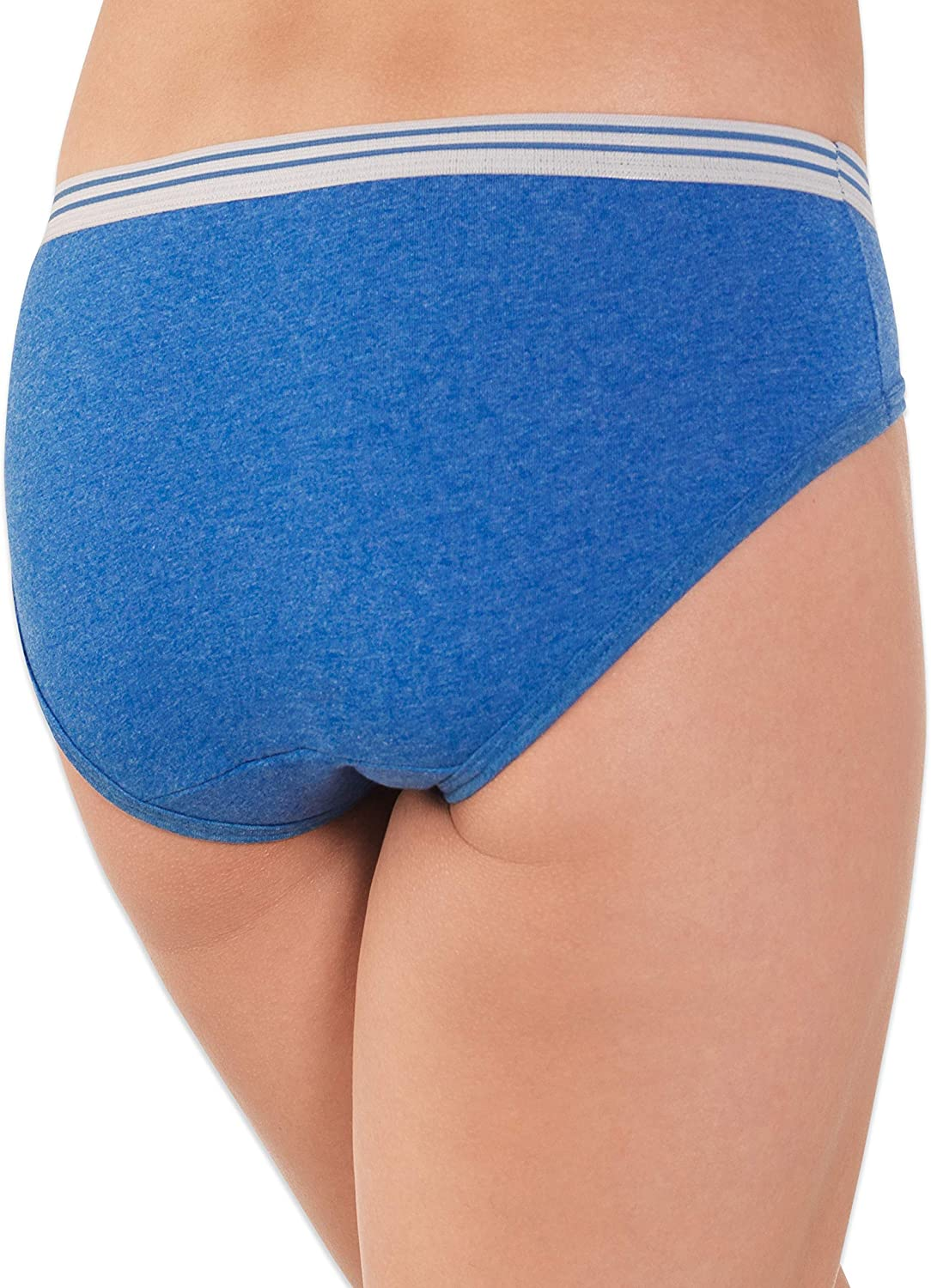 Fruit of the Loom Womens Womens Heather Low-Rise Hipster 12 Pack Underwear