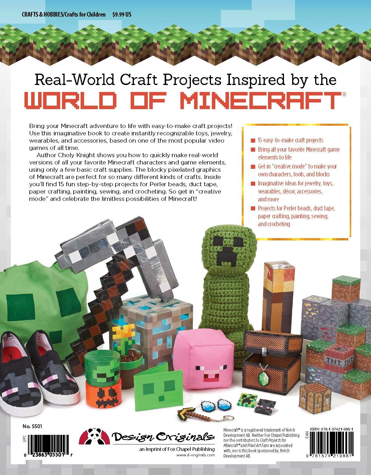 Craft Projects For Minecraft And Pixel Art Fans Fun EasyToMake - Paper minecraft jetzt spielen