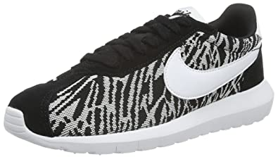 official photos 59f1e 38f30 Image Unavailable. Image not available for. Color  Womens Nike Roshe  LD-1000 KJCRD Black White ...