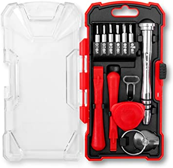 Phillips Screwdrivers T6 Smartphone Repair Tool Kit: T5 Suction Cup Pry Pick