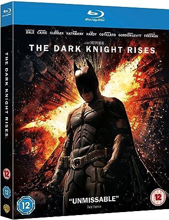 Amazon com: The Dark Knight Rises [Blu-ray] (Region Free): Movies & TV