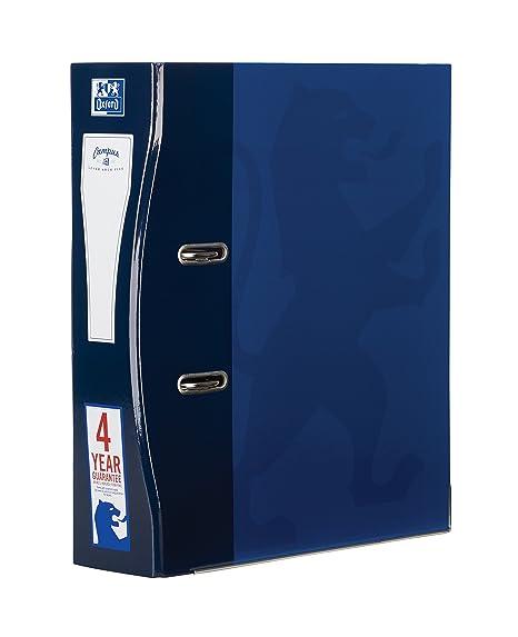 Archivadores Oxford A4, 70 mm, color azul marino paquete de 1 unidad