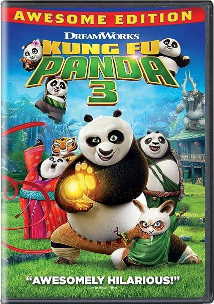 Amazon.com: Kung Fu Panda 3 - Awesome Edition [DVD]: Jack Black, Bryan  Cranston, Dustin Hoffman, Angelina Jolie, J.K. Simmons, Seth Rogen, Lucy  Liu, David Cross, Kate Hudson, James Hong, Randall Duk Kim, Jackie Chan,  Jennifer Yuh Nelson ...Amazon