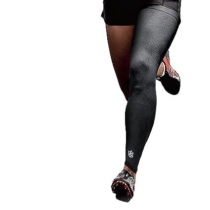 b73b36ba07 Vital Salveo - Germanium Recovery Compression Outdoor Full Length Leg Knee  Sleeve(1 PC)