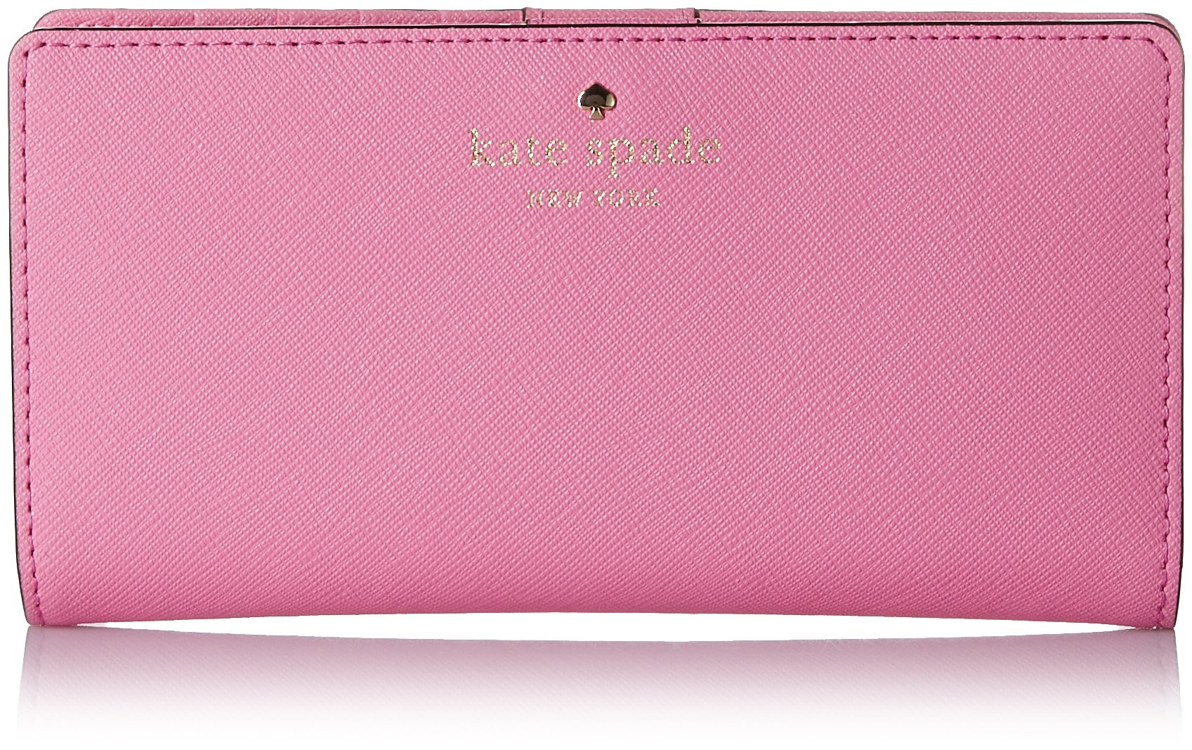 Kate Spade New York Cedar Street Stacy Wallet Rouge Pink by Kate Spade New York