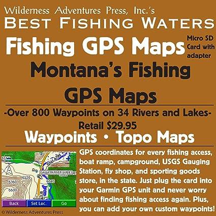 Amazon.com: Montana Pesca GPS Mapas tarjeta micro SD: Sports ...