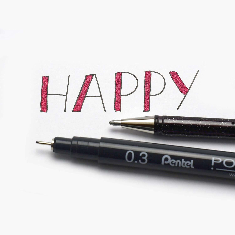 Set creativo Sketch Notes e molto altro 6 pezzi Bullet Journal Pentel ideale per lettering