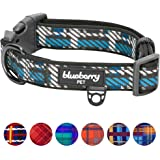 Blueberry Pet Soft & Comfy Scottish Plaid Pattern Dog Collar