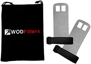 WODFitters Textured Leather Hand Grips For Cross Training