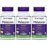 Natrol Fast Dissolve Melatonin Tablets 10 mg. Citrus Punch 60 Tabs (Pack of 3