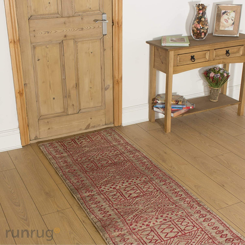 Black runrug UK Kitchen Hallway Long Carpet Rug Runner CUSTOM LENGTH Afrikans 150cm x 70cm