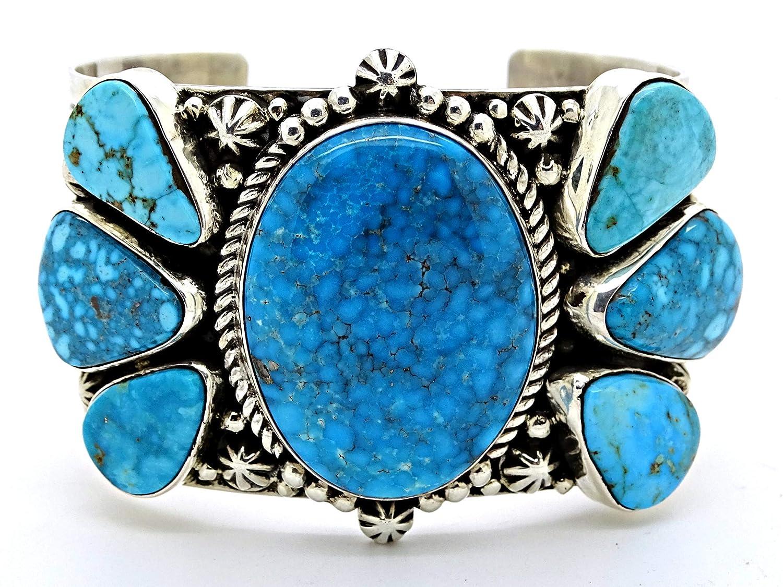 Turquoise gemstone bracelet in Sterling Silver  December Birthstone  11th anniversary gemstone gift  Gift for Her  Gift for Him