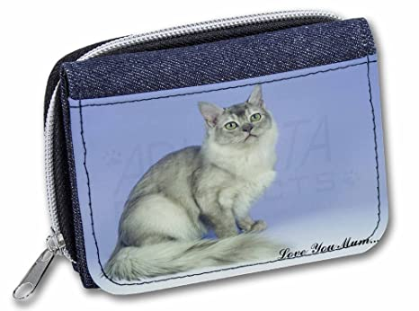 Advanta - Cartera Denim Tiffanie Cat Love You Mum para niña/Mujer AC