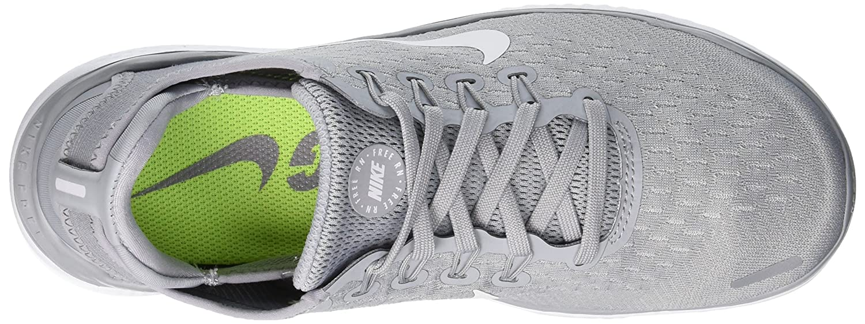 NIKE Women's Free RN 2018 Running Shoe B072N1F647 10 B(M) US Wolf Grey/White/Volt