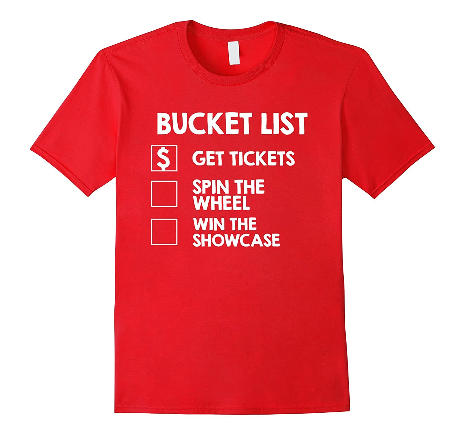 Bucket List Game Show Contestant Shirts-T-Shirt
