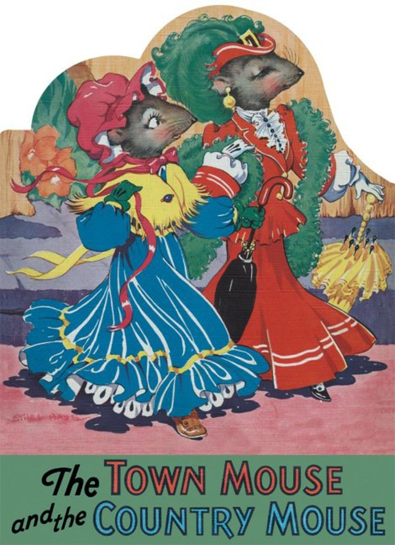 The Town Mouse And Country Shape Books Ethel Hays 9781595831927