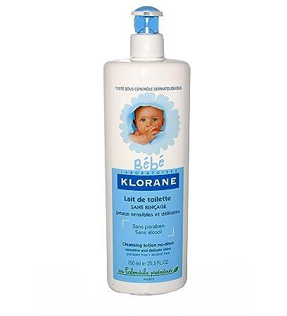 klorane bebe lait de toilette protecteur 750 ml