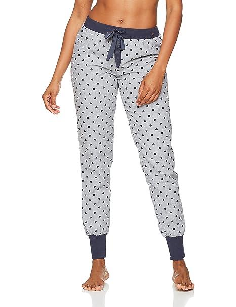 Esprit 077ef1y052, Pantalones de Pijama para Mujer, Gris (Light Grey 040),