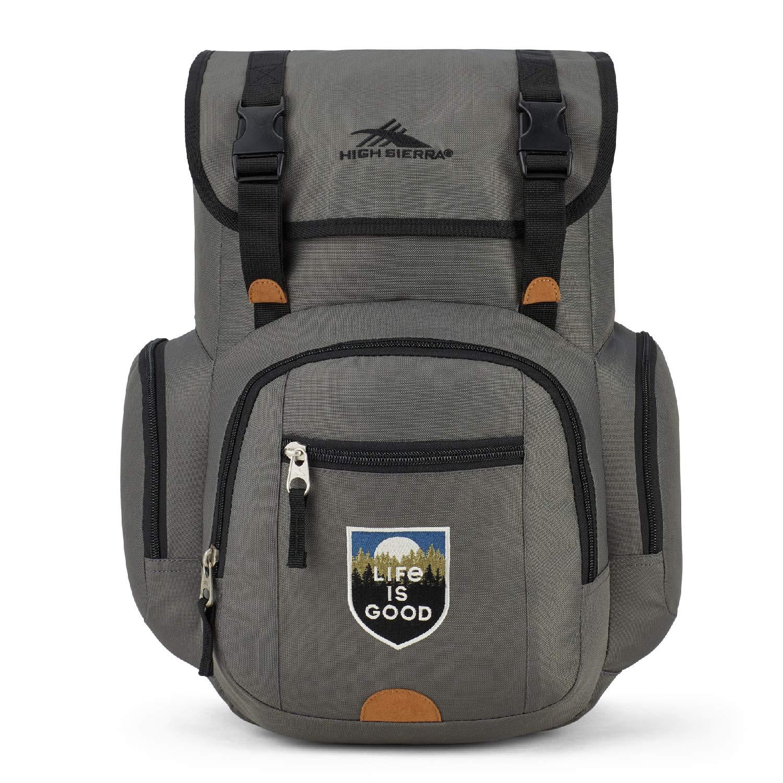 High Sierra Life is Good Emmett 2.0 Laptop Backpack, Fits Most 15.5 Laptops