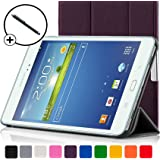 ForeFront Cases® New Samsung Galaxy Tab 3 8.0 Leather Case Cover / Stand For New Generation Samsung Galaxy Tab 3 (8.0) 8GB 3G + WiFi with Magnetic Auto Sleep Wake Function + Stylus Pen Worth £4.50