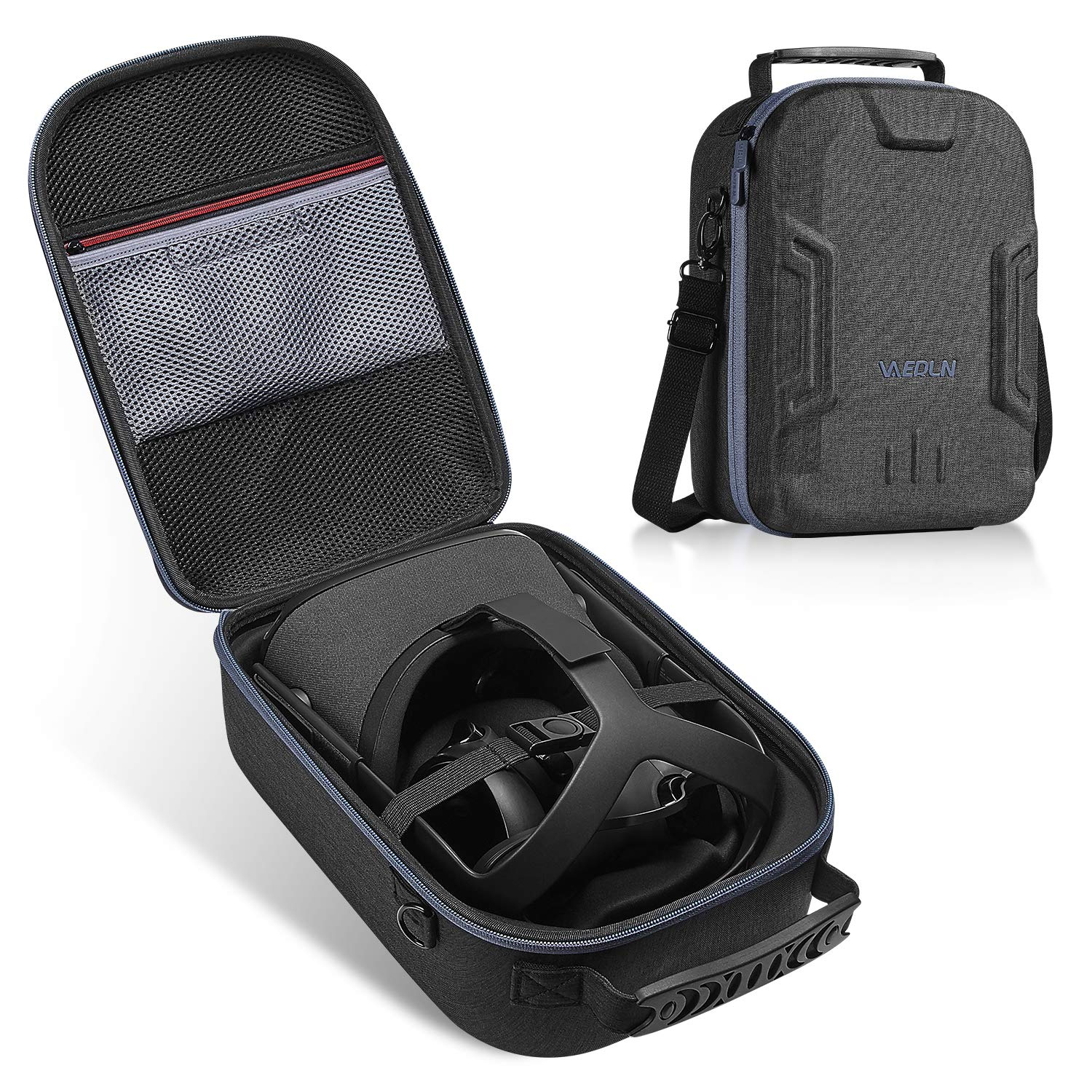 Vanerdun EVA Hard Case for Oculus Quest All-in-one VR Gaming Headset - Virtual Reality Protective Bag by Vanerdun
