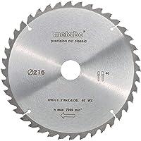 metabo 628060000 Cirkulär Sågblad HW/CT, Silver, Ø 216