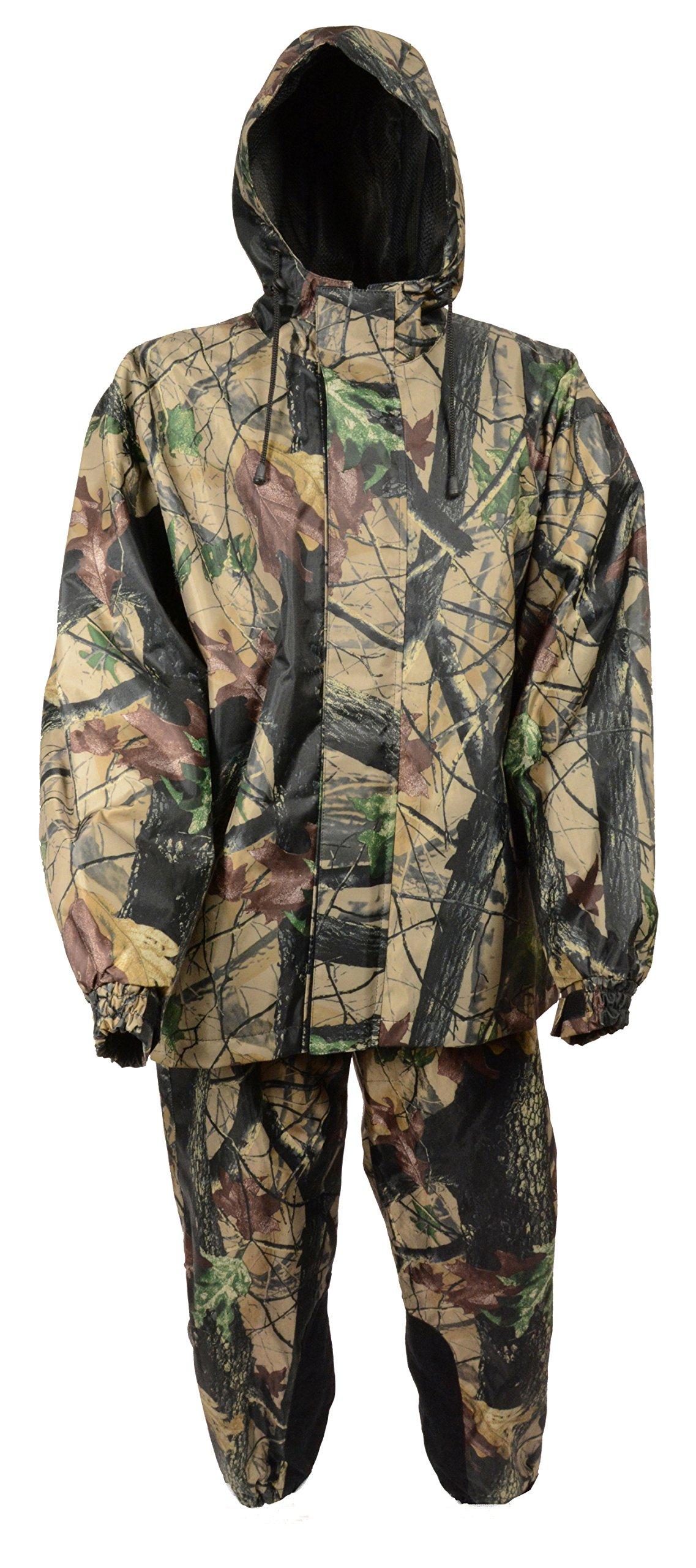 Milwaukee Men's Jungle Camouflage Performance Rain Suit (Jungle, XXX-Large)