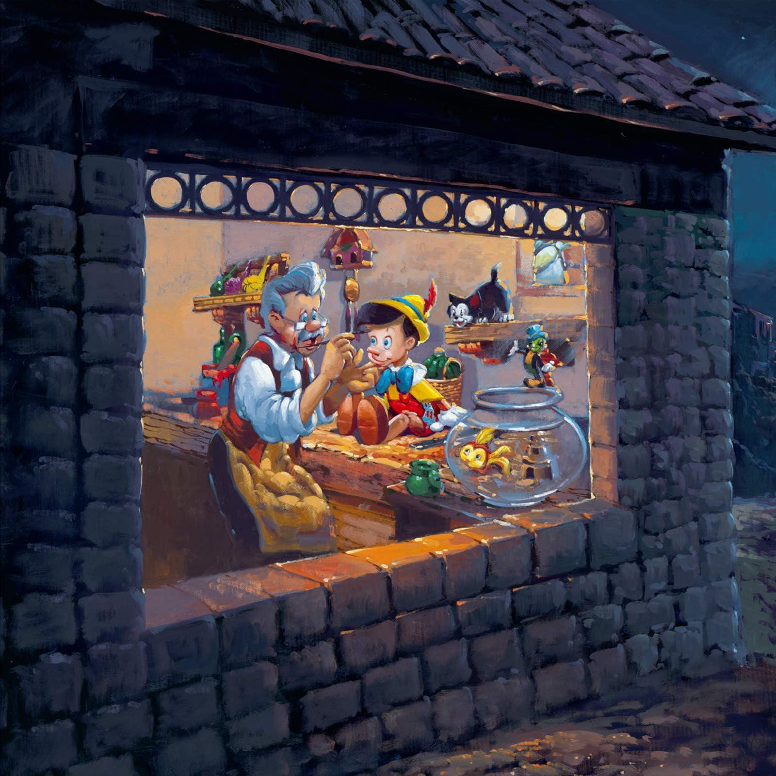 ディズニー ザ ウィッシング スター(ピノキオ)  iPad壁紙画像