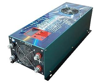 Inverter Converter 5000w 12V Inversor Onda Pura to AC 220V ...