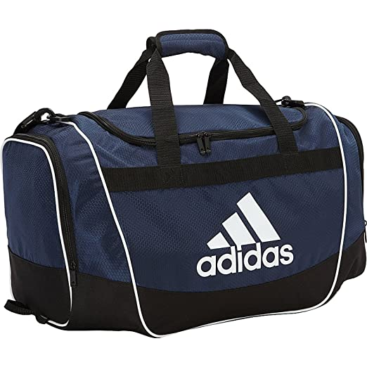 Amazon.com  adidas Unisex Defender Large Duffel Bag Collegiate Navy ... d7511f04bfd8b