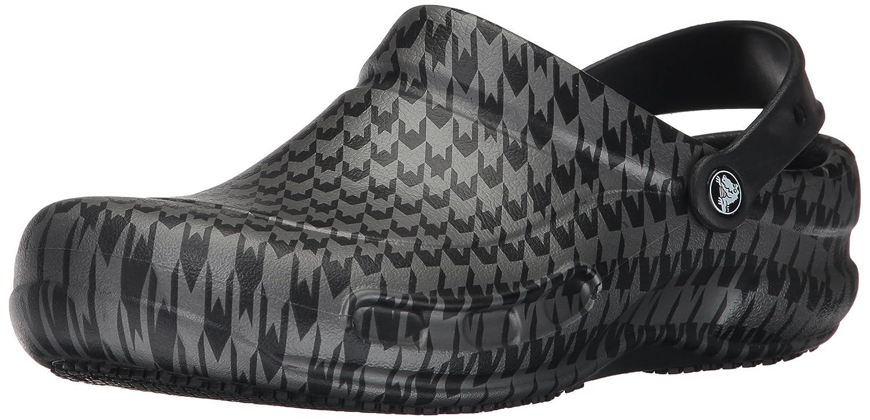 Crocs Unisex Bistro Graphic Work Clogs -