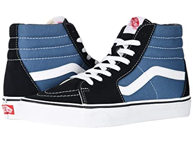6e35e7f4123 Amazon.com | Vans SK8-Hi Canvas Unisex-Adult Hi-Top Sneaker ...