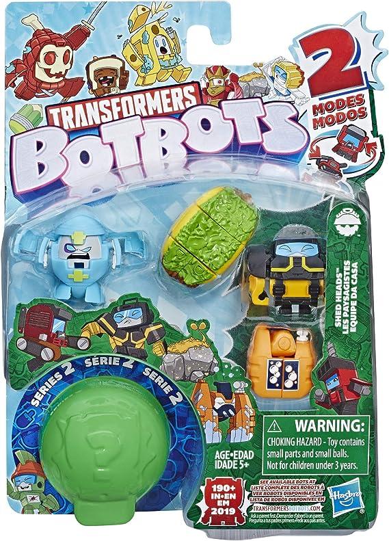 Amazon.com: Tra Botbots 5Pk Cabezales de cobertizo: Toys & Games