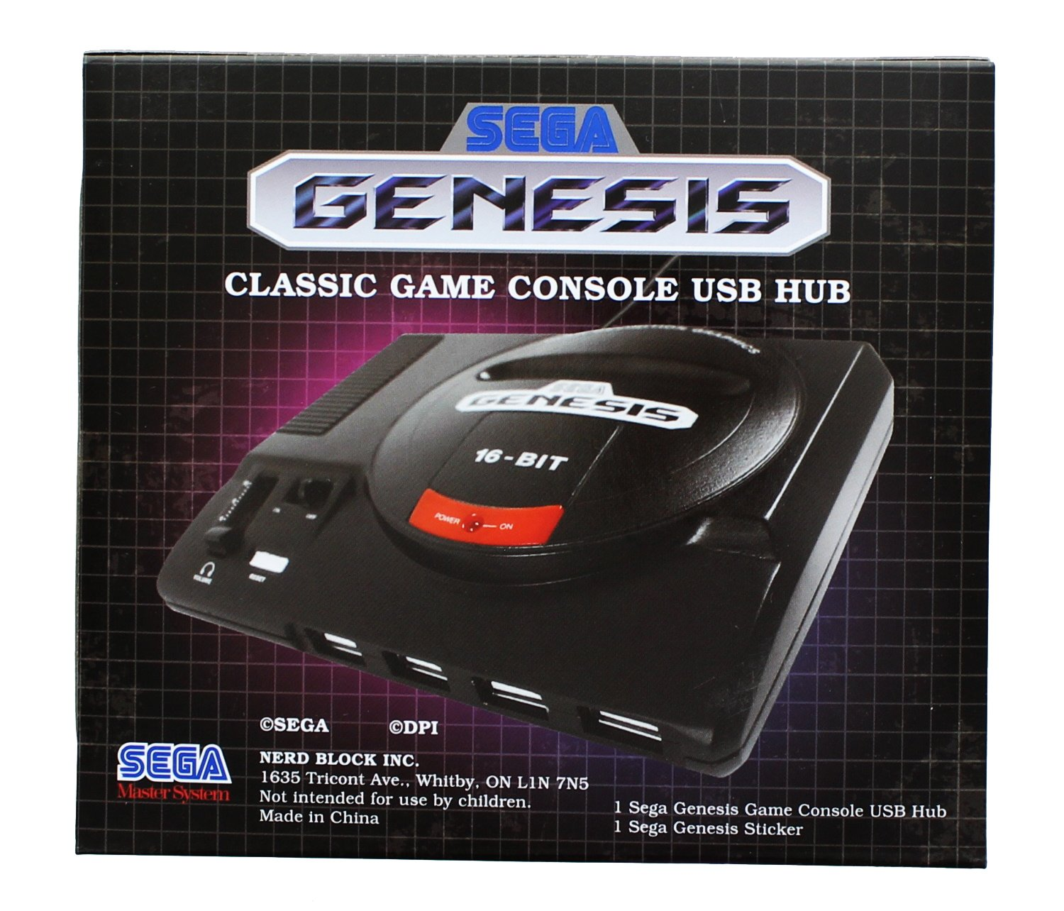 Sega Genesis 16-Bit Mini Classic Game Console USB Hub: Amazon.de ...