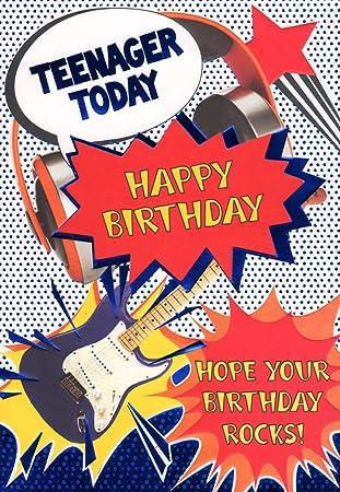 Teenager Geburtstag Karte Teenager Von Heute Hope Your Birthday