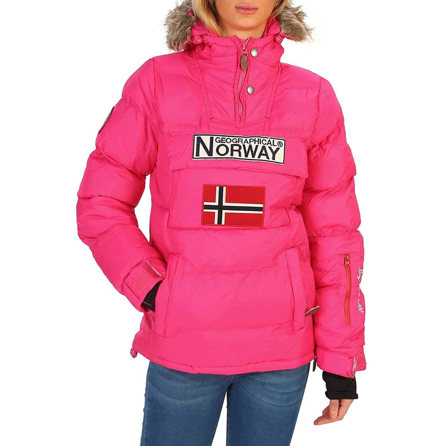 Geographical Norway Anson_woman Chaquetas Mujer Rosa 3 ...