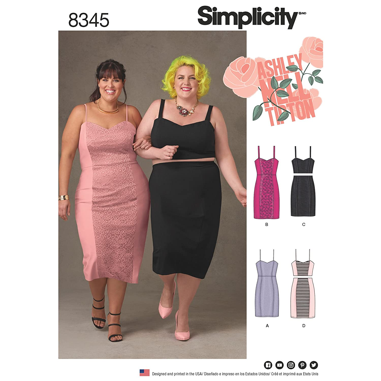 Amazon.com: Simplicity Creative Patterns US8345F5 Plus Size ...