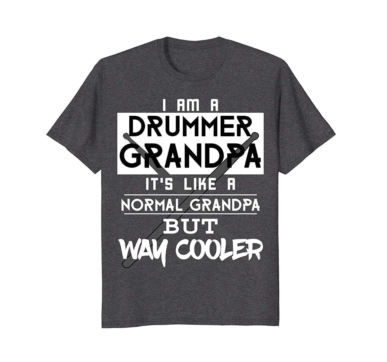 c94efdbb Funny Im A Drummer Grandpa T-shirt Fathers Day Birthday Gift-alottee gift