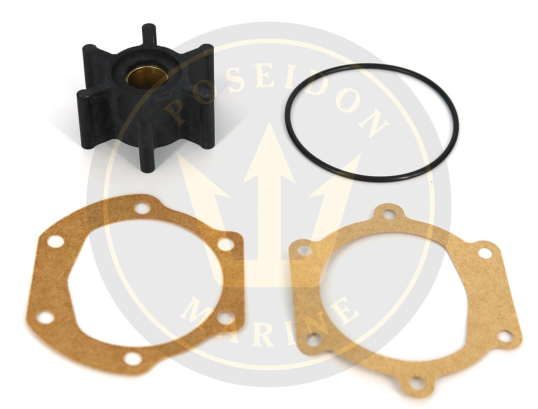 3593659 22222936 673-0001 09-1026B Poseidon Marine Water Pump Impeller for Volvo Penta RO