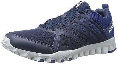 Reebok Men's Realflex Train 3.0 Training Shoe, Faux Indigo/Club Blue/Steel/