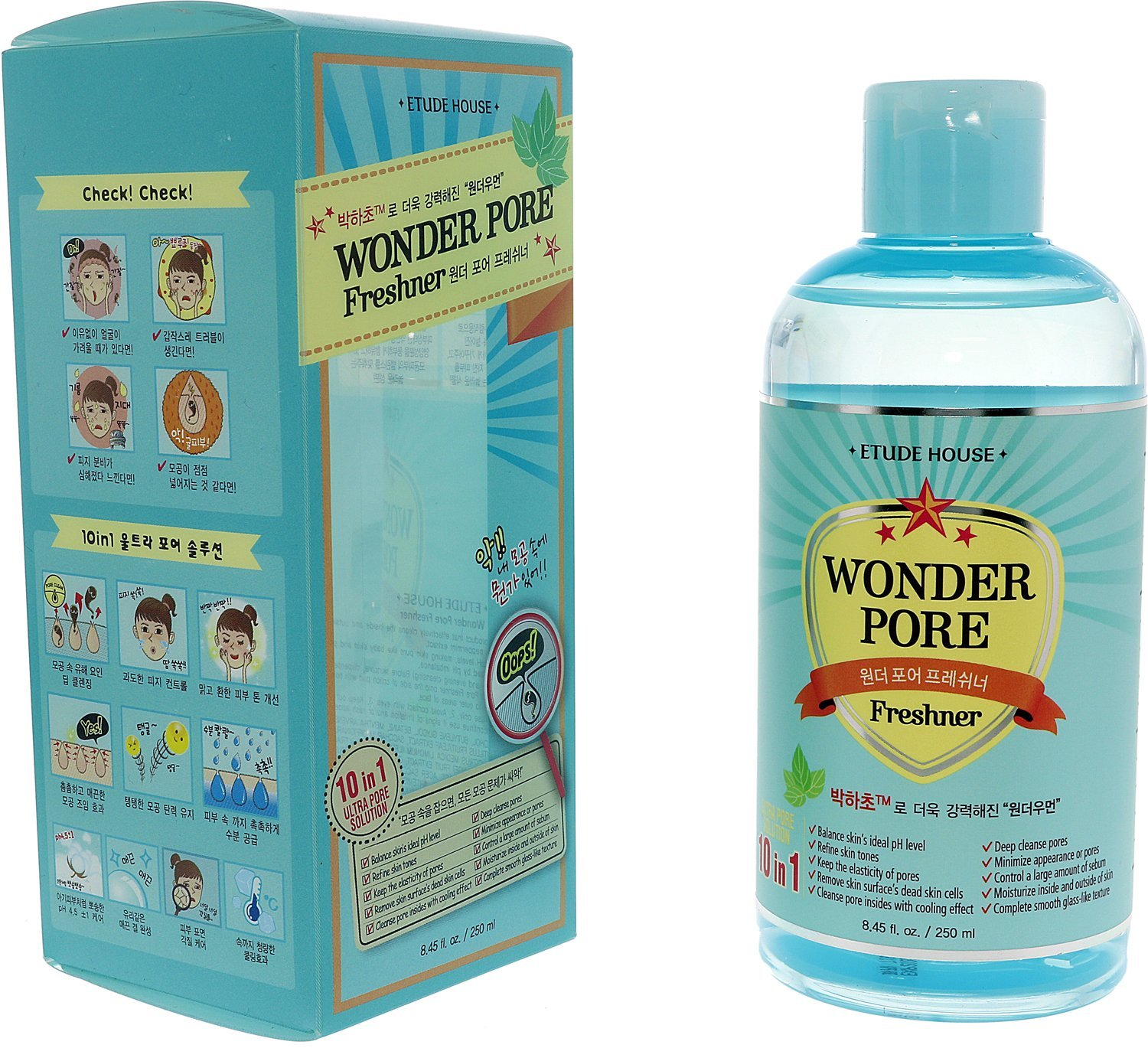 Etude House Wonder Pore Freshner 250ml/8.45oz 8806179423228