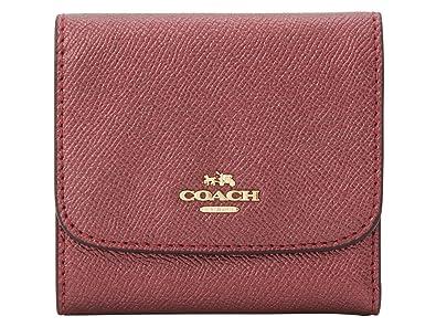 0b588f311ab1 [コーチ] COACH 財布 (三つ折り財布) F21069 メタリックチェリー IME42 レザー 三